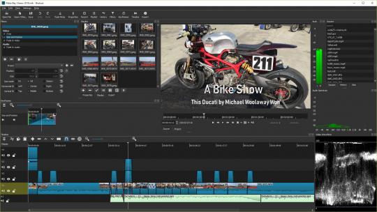 Shotcut Software Video Editor PC