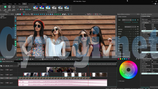 Cara Menggunakan Editor Video Gratis VSDC
